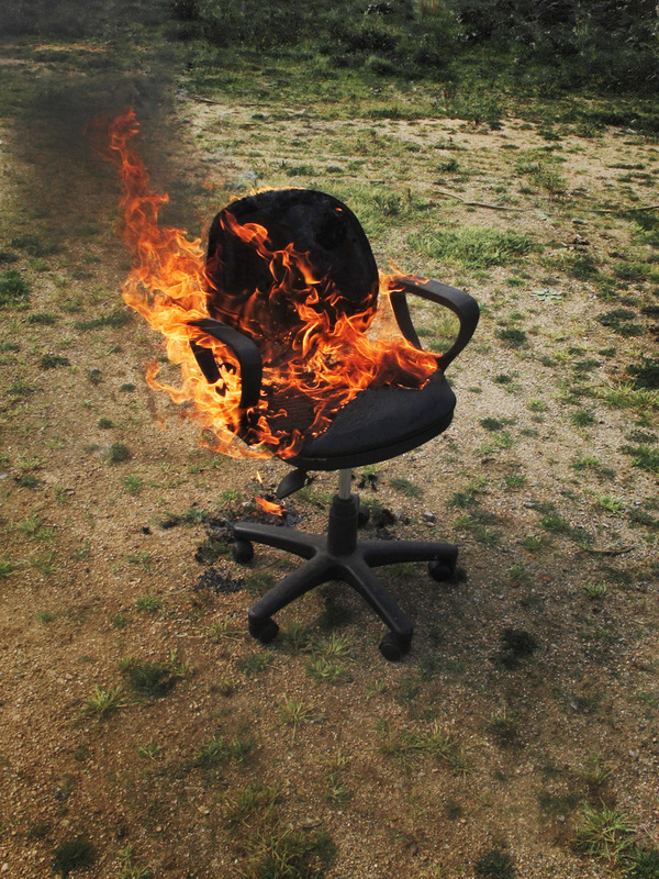 office-chair-on-fire